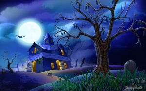 halloween-wallpaper-haunted-house